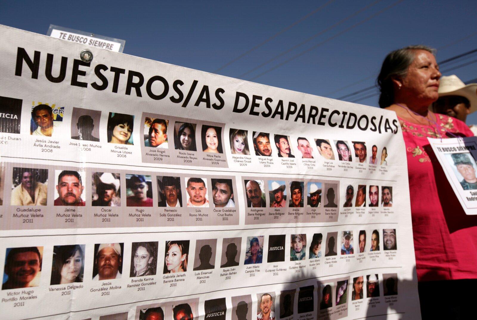 """""""Nuestros/as desaparecidos/as"""""""