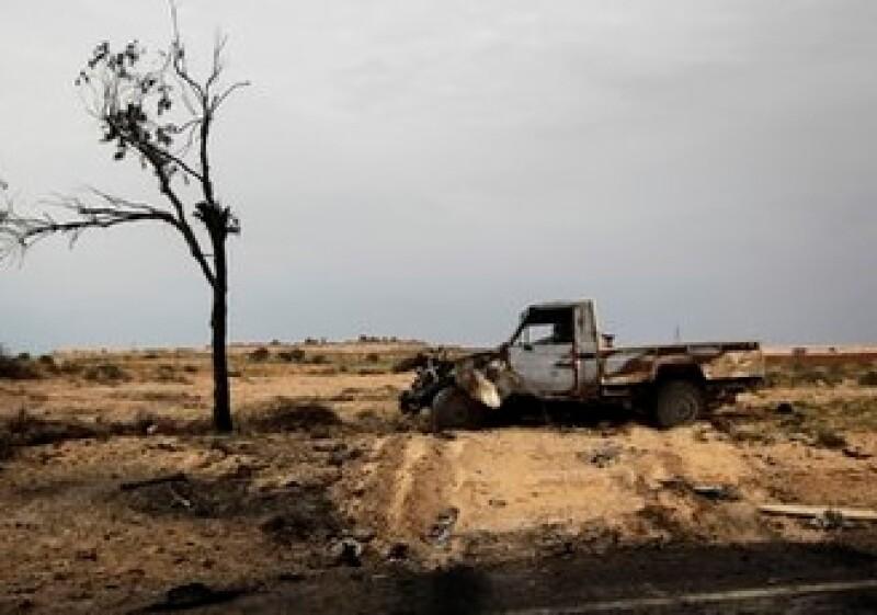 Libia es el principal foco de peligro e impacto en el mundo. (Foto: AP)