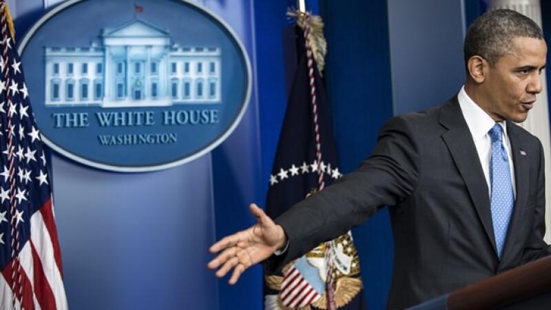 barack obama da rueda de prensa