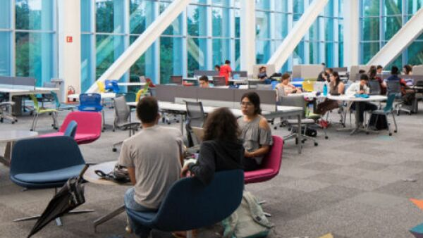 nueva biblioteca del ITESM, campus Monterrey