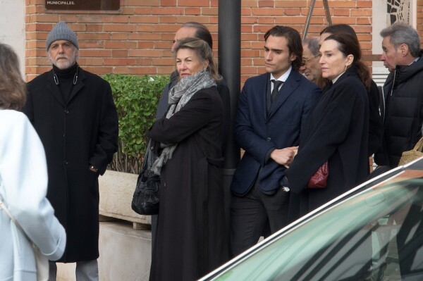 Placido Arango's Funeral In Madrid