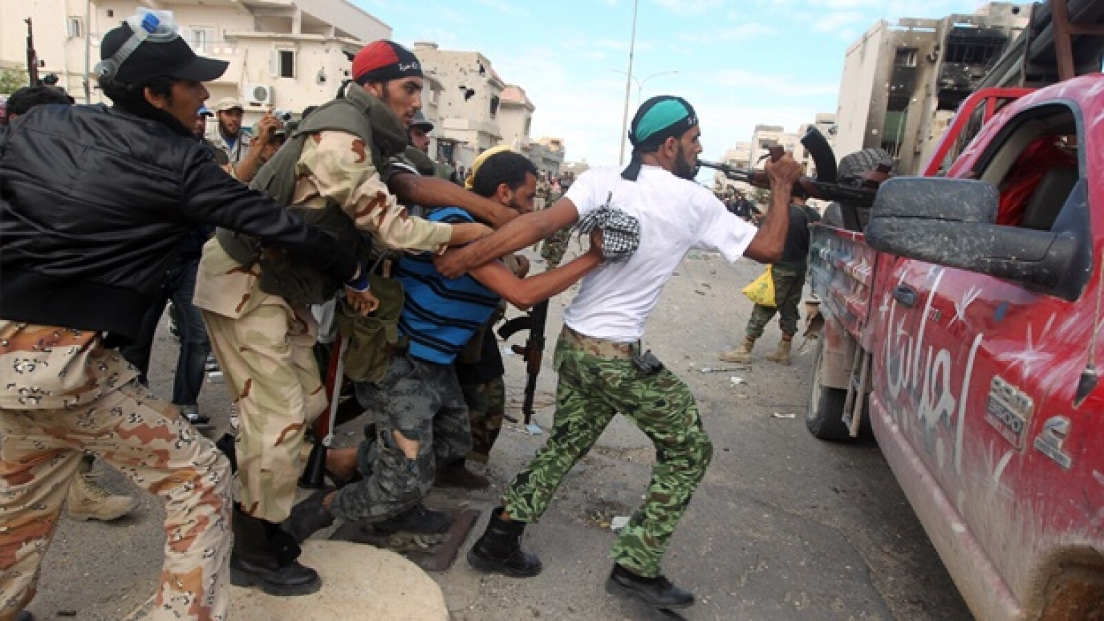 Libia - Sirte - combates
