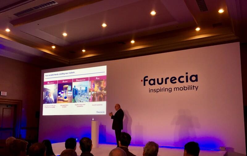 Patrick Koller, CEO de Faurecia.