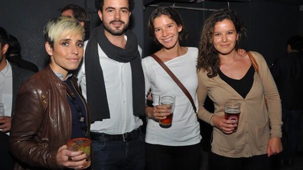 María José Díaz de Cosío, Hitarek, Ana y Mariel Bouffier.