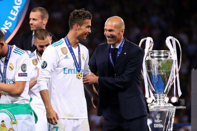 Zinedine Zidane en las finales