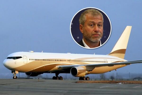 Roman Abramovich, avión
