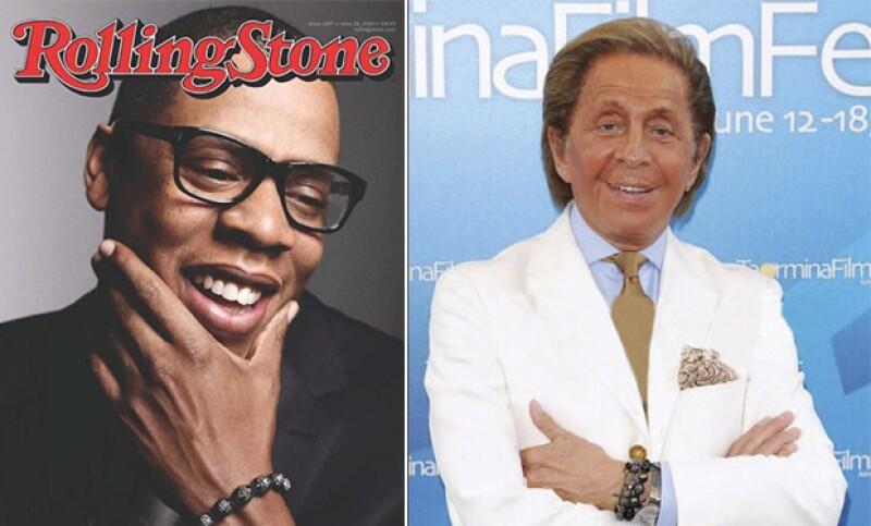 Jay-Z y Valentino son fieles clientes de la marca, aquí con su brazalete de Shamballa