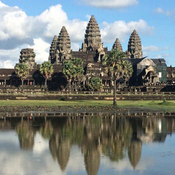 Ankor Wat en Camboya, uno de los paisajes que más impresionaron a Sandra.
