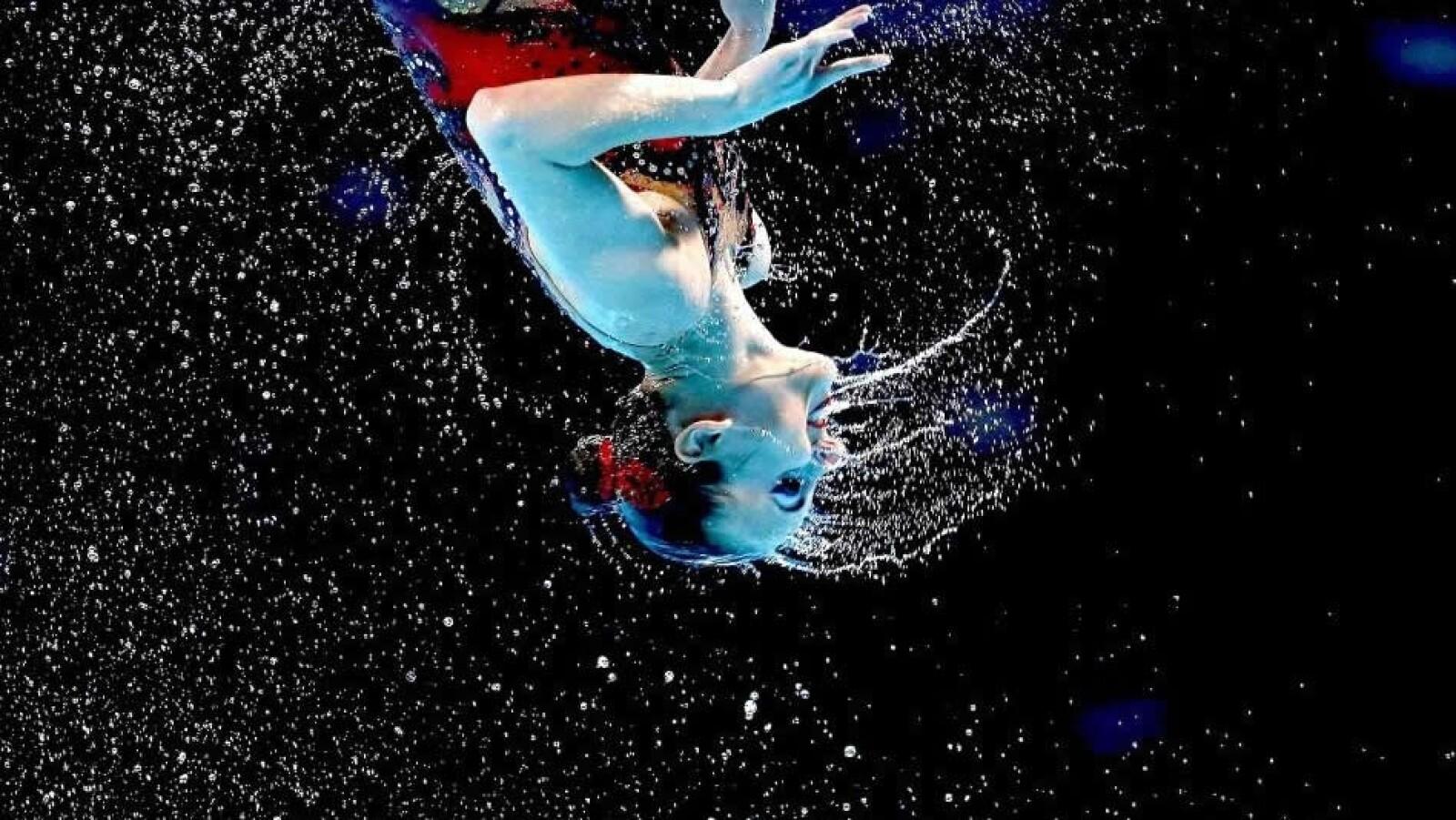 Rusia nado sincronizado campeonato mundial barcelona españa