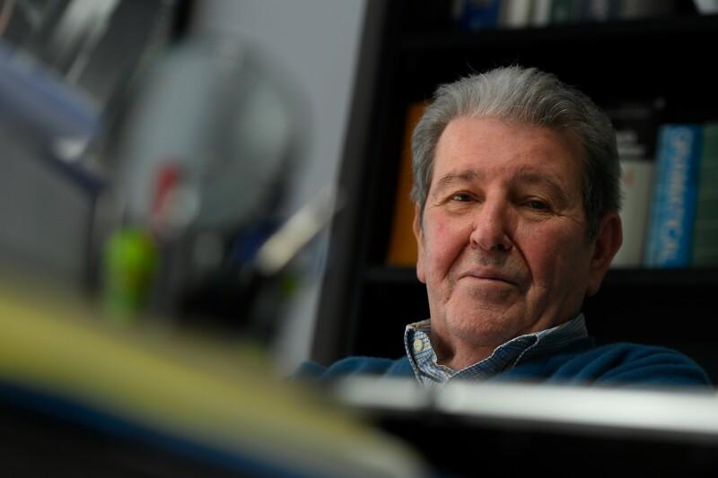 Jorge Herralde, editor y fundador de editorial Anagrama.