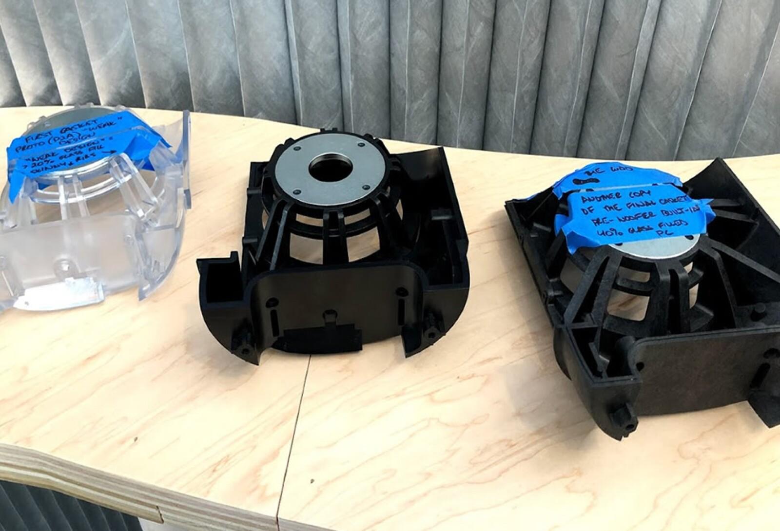 Prototipos Woofer Sonos