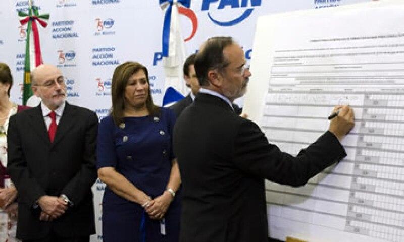 El 25 de julio el PAN presentó el aviso para la consulta a la Cámara de Diputados. (Foto: Cuartoscuro)