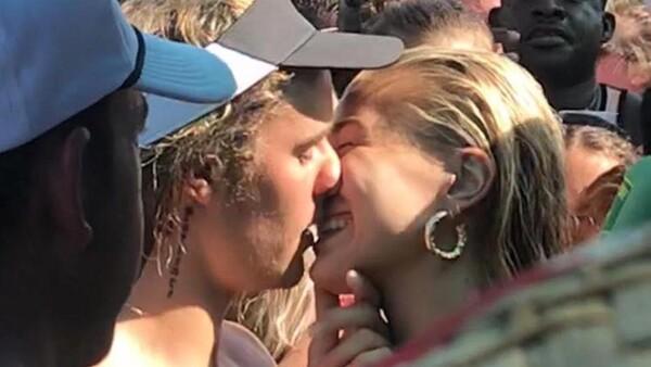 Justin Bieber y Hailey Baldwin tras su compromiso