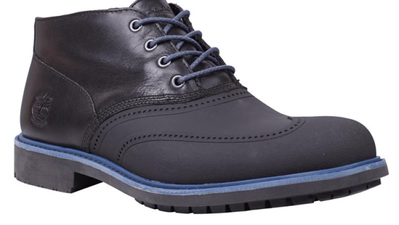 Timberland no sólo se concentró en las botas, también implementó zapatos en su colección.