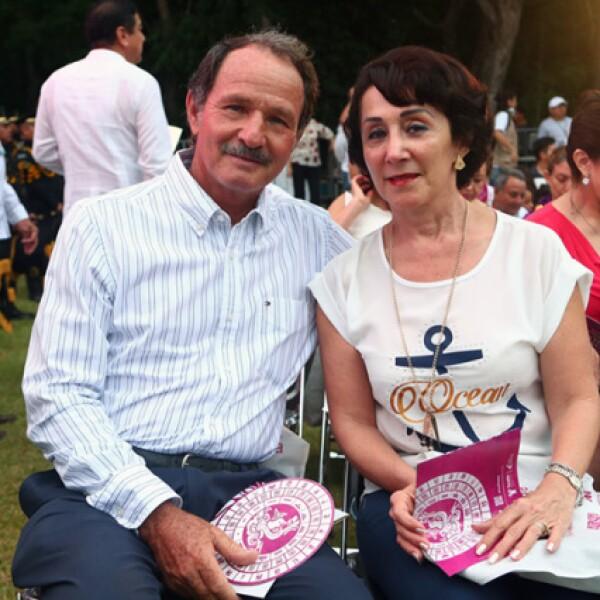 Miguel Alfredo Dutton y Cecilia Campos de Dutton
