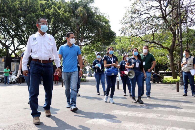 La ciudad de Cuernavaca poco a poco se queda vacía por contingencia sanitaria.