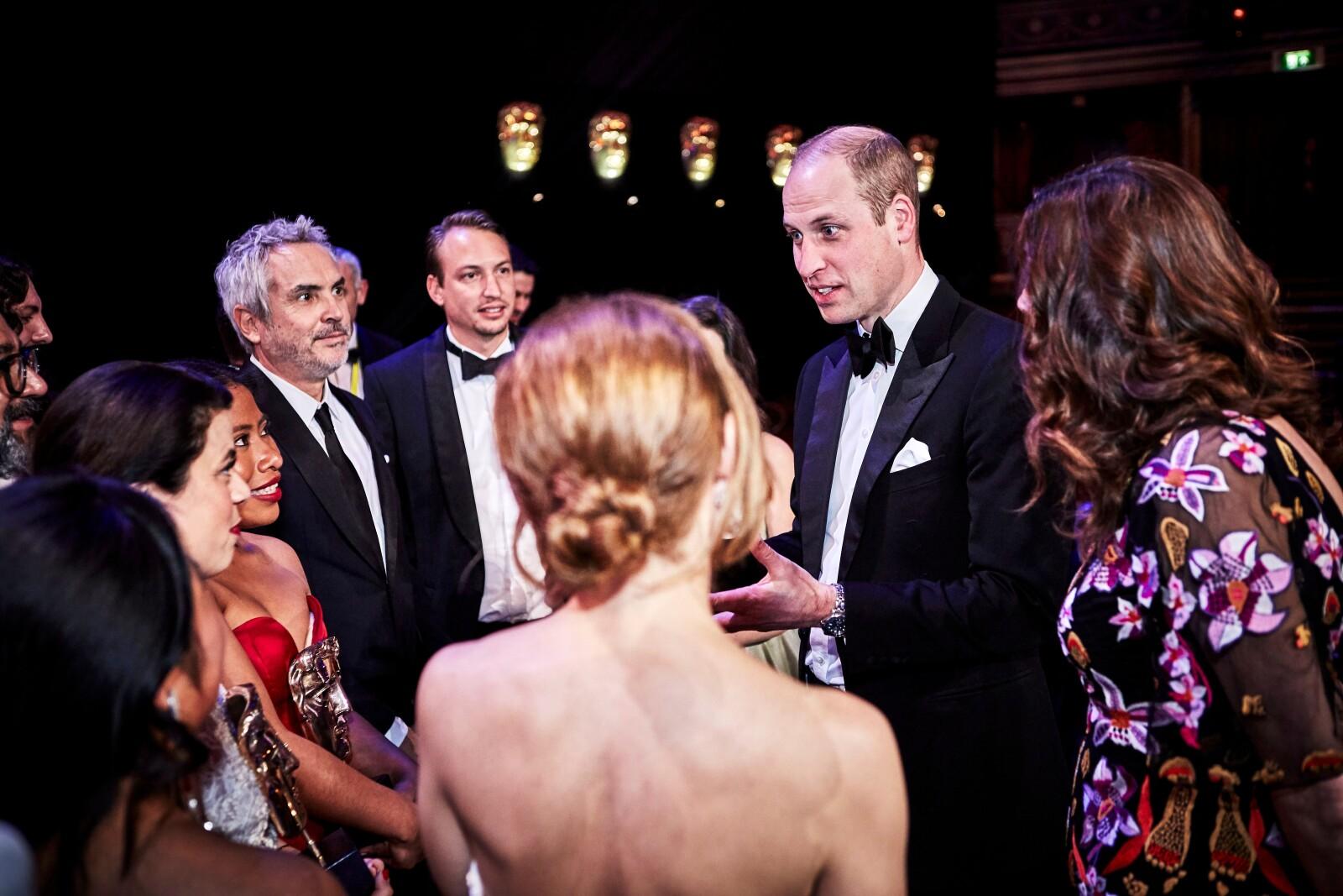 Príncipe William y Yalitza Aparicio