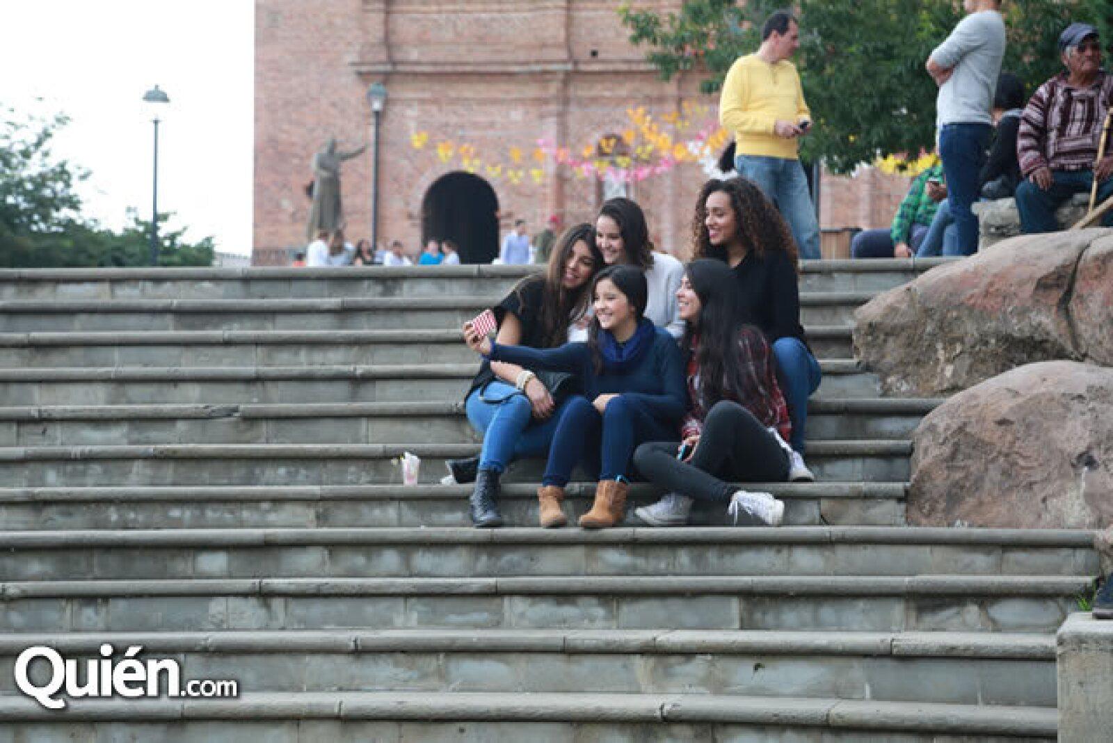 Marifer Navarro,Romina Leal,Marifer Navarro,Alejandra Leal y Natalia Hernández