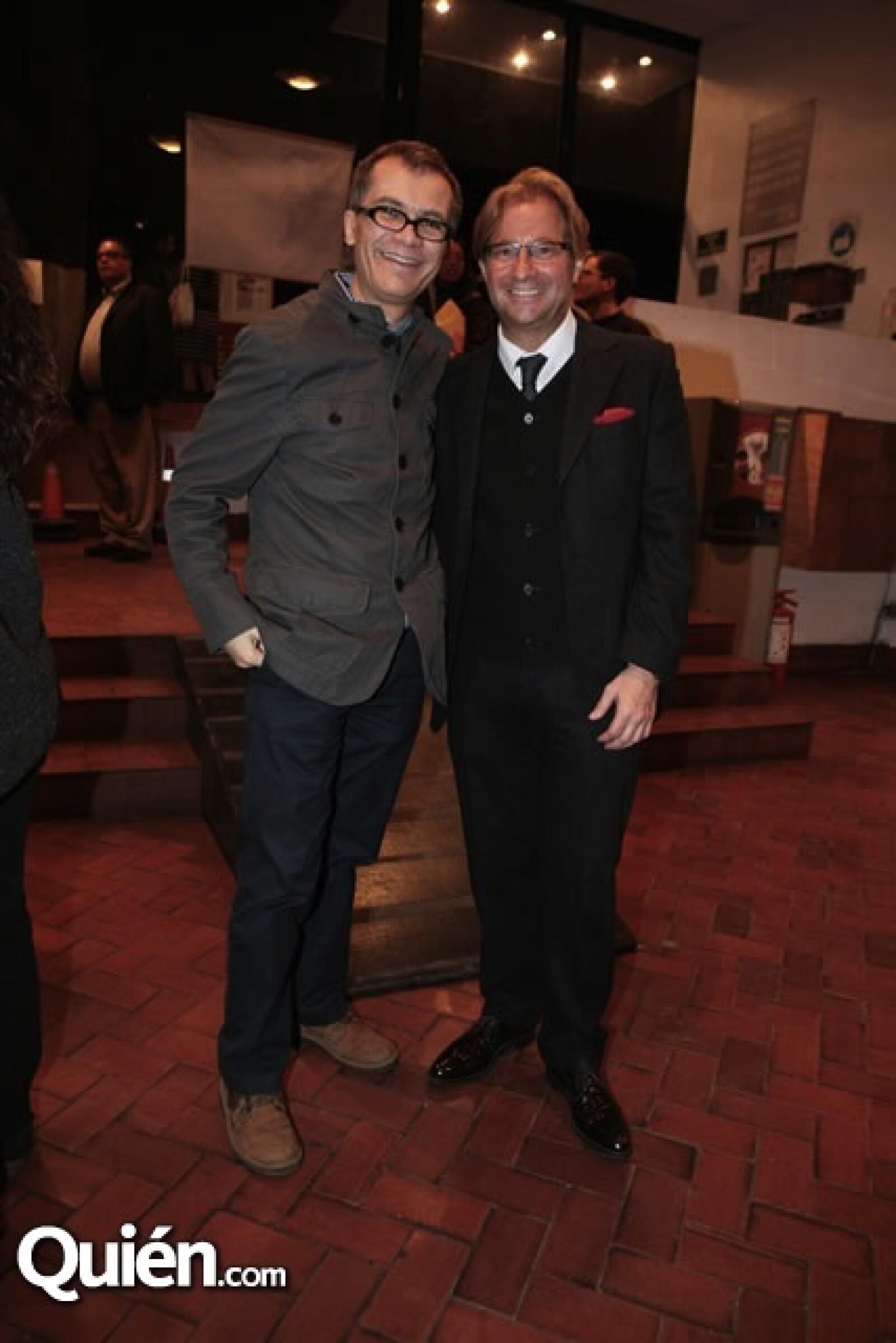Pablo Boullosa y Andrés Roemer