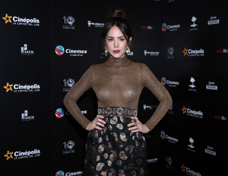 """La actriz regresa a la pantalla chica en la serie """"Señorita Pólvora"""", donde interpretará a Valentina, una chica de mucha acción."""