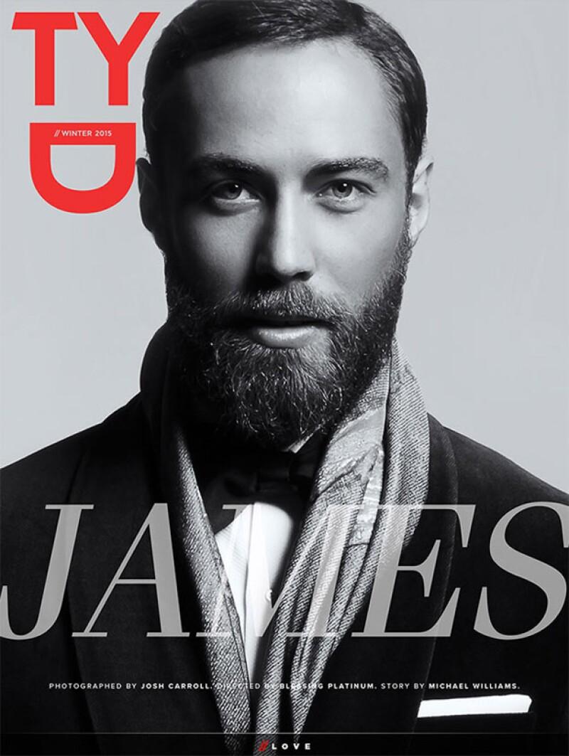 El hermano menor de la esposa del príncipe William sorprende en la portada de una revista digital, convertido en un exitoso empresario luego de su problemática adolescencia.