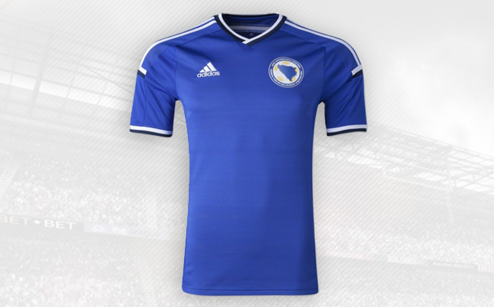 La playera de este país europeo es la más reciente novedad de Adidas para el Mundial de Brasil.