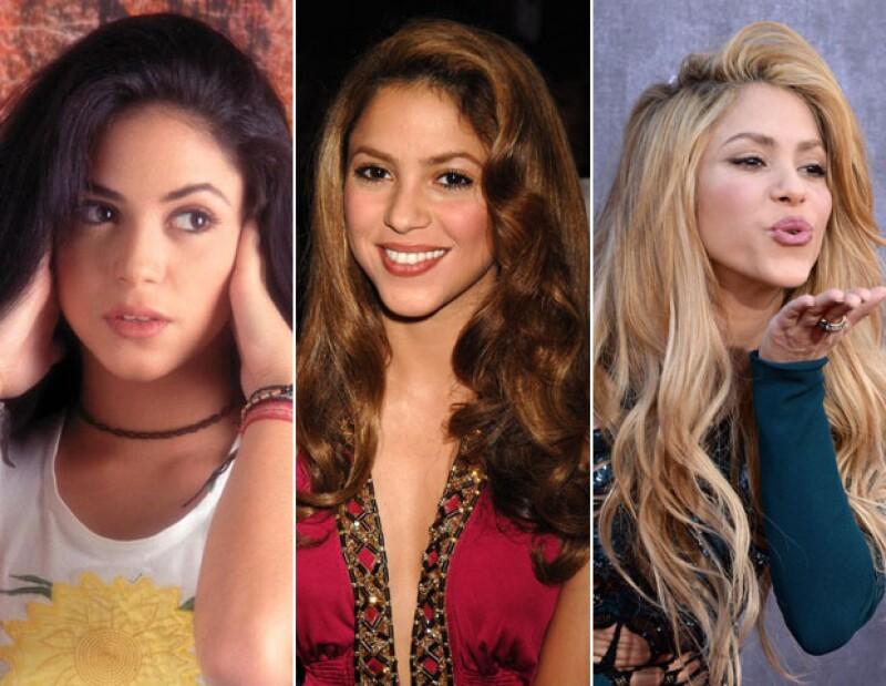 La música de Shakira cambió a la par de su pelo.