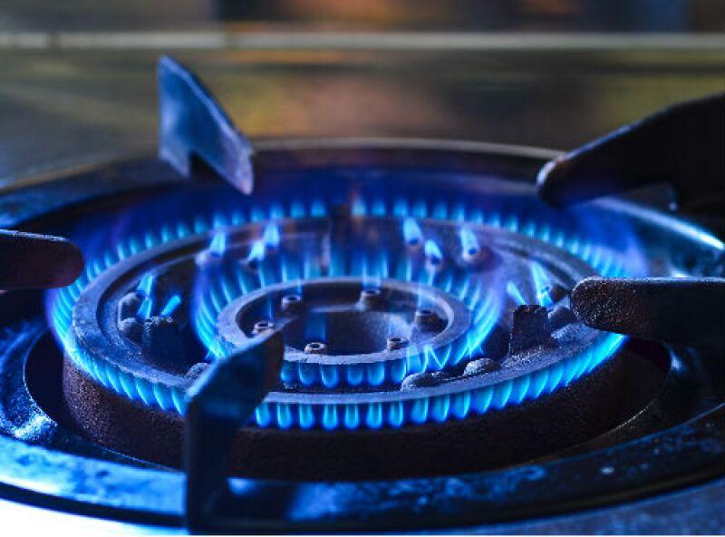gas natural estufa