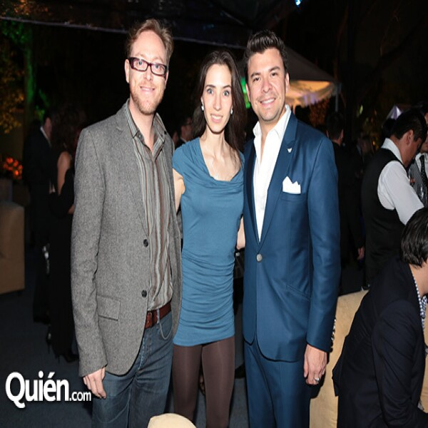 Ricardo Covalín,Andrea Álvarez,Ricardo Serrano