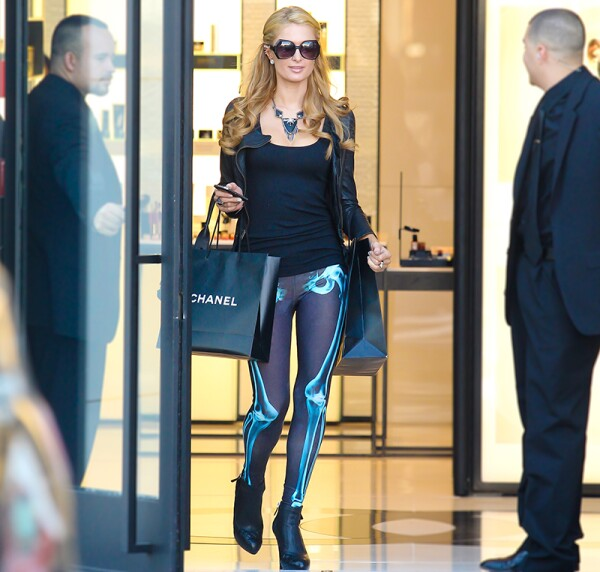 Paris Hilton out and about, Los Angeles, America - 25 Oct 2013