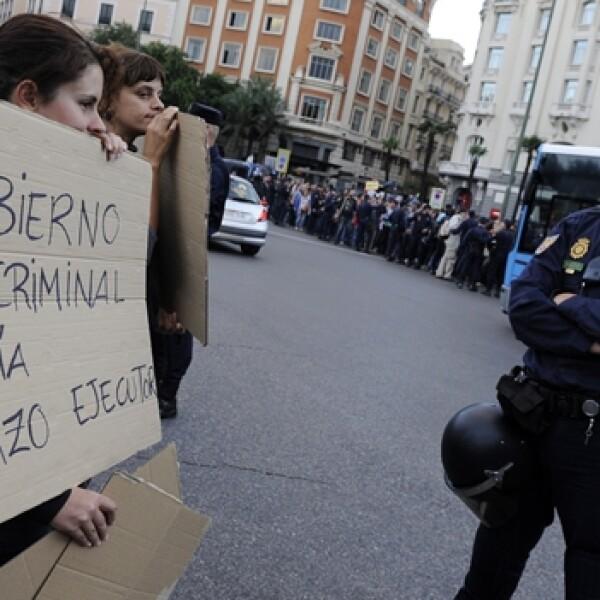 ESPAÑA SEGUNDO día de protestas- 26 s
