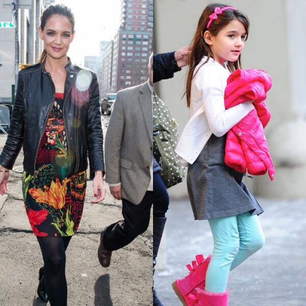 Suri Cruise, hija de Katie Holmes y Tom Cruise.
