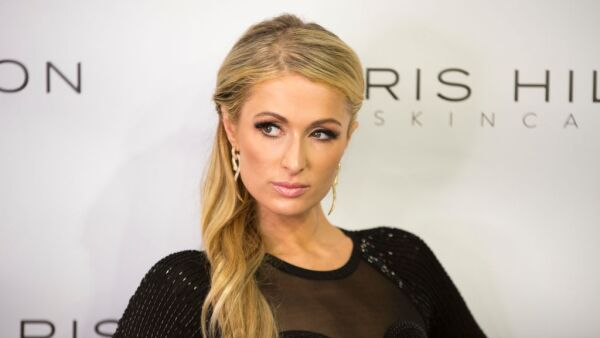 Paris Hilton in Milan for the first European launch of his Skin Care Line ProD.N.A