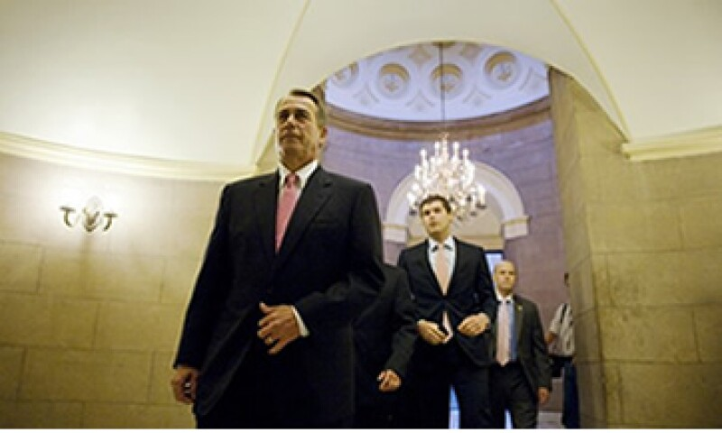 El líder de la Cámara de Representantes, John Boehner al término de la votación. (Foto: Reuters)