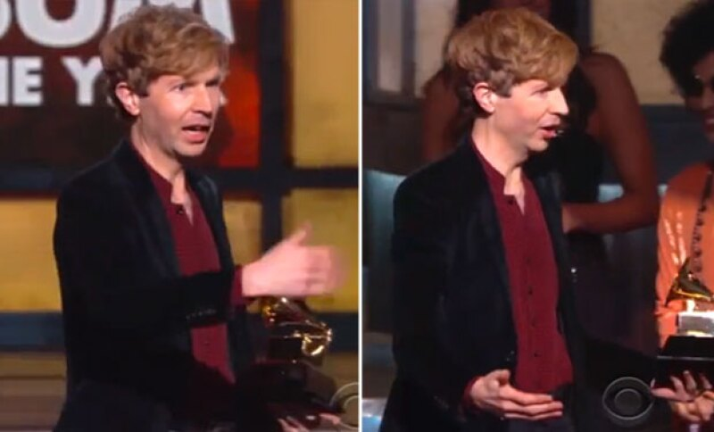 El cantante pidió al rapero que subiera nuevamente al escenario.