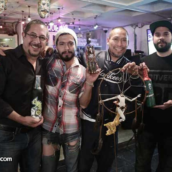 Emilio Lepine,Jesús Cantera,Edgar Téllez y Alex Lagarda