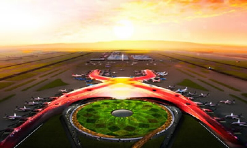 El aeropuerto se construirá en dos etapas, y en la primera se invertirán 169,000 mdp de acuerdo con el Gobierno. (Foto: Especial)
