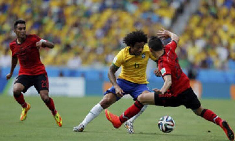 Brasil retó a México a sumar más seguidores en la red social. (Foto: Reuters)