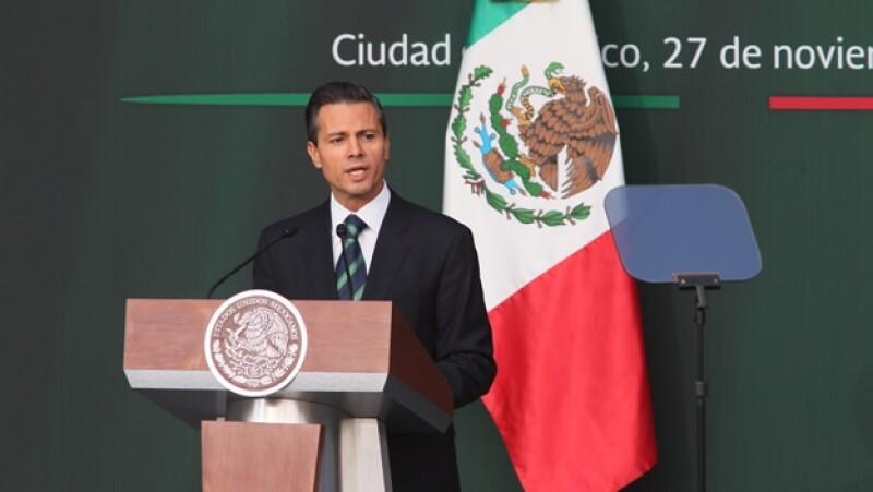Peña Nieto anuncio seguridad