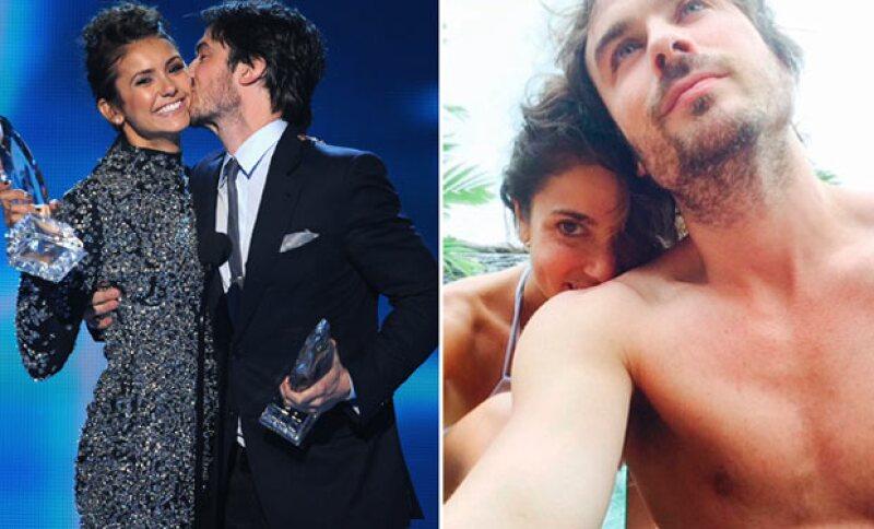 Ian está muy felizmente enamorado, y casado con Nikki Reed.