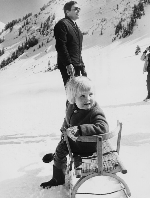 Prince And Son In Lech