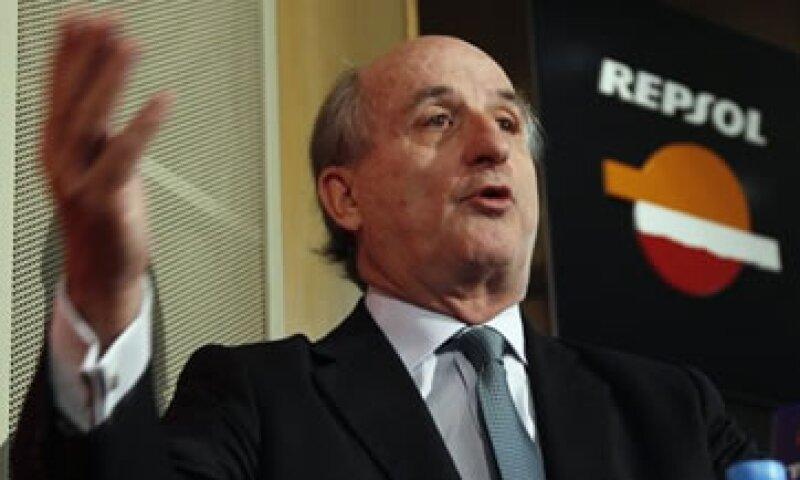 Antonio Brufau, presidente de Repsol, negó que la decisión de Argentina se haya debido a una ausencia de inversión.  (Foto: Reuters)