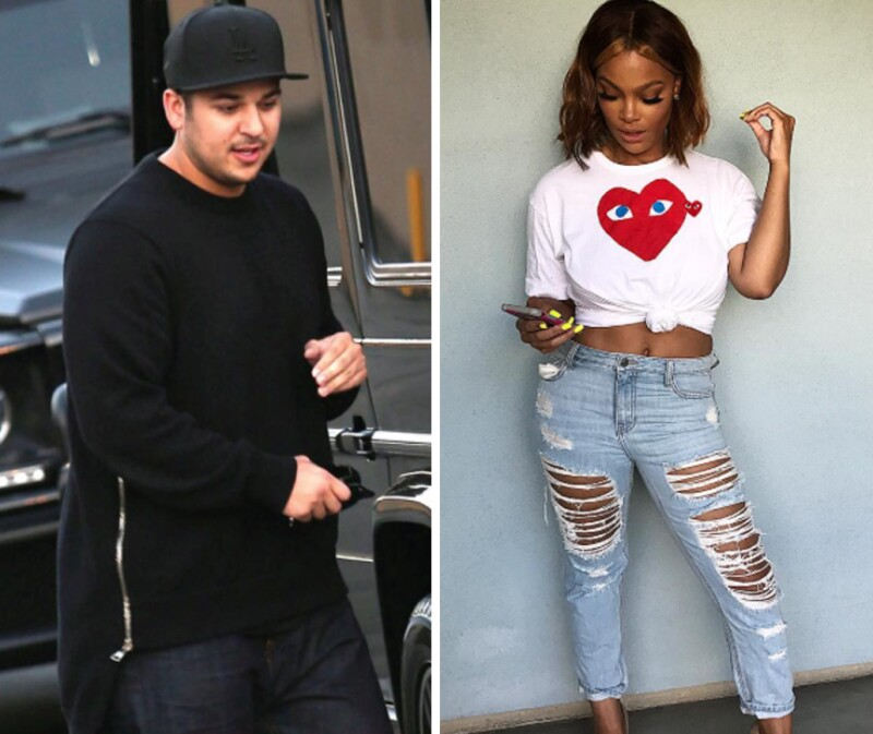 Rob Kardashian, Mehgan James