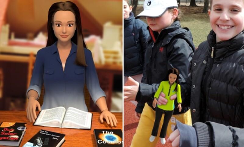 &#39Lammily&#39 es una muñeca del mismo tamaño que una &#39Barbie&#39 pero diseñada de acuerdo a una mujer promedio de 19 años, con accesorios que resaltarán los defectos cotidianos propios de esa edad.