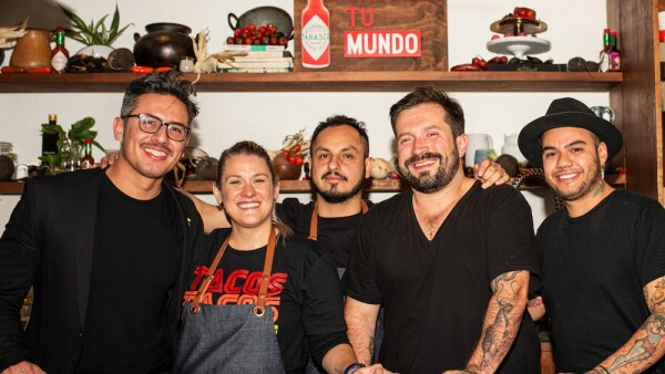 Ricardo Nava, Cecy González, Irak Roaro, Luis Valle y Braulio Hernández.