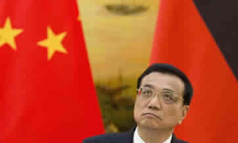 Li Keqiang, primer ministro chino, estimó que el crecimiento para 2014 será de al menos 7.5%.(Foto: Reuters)