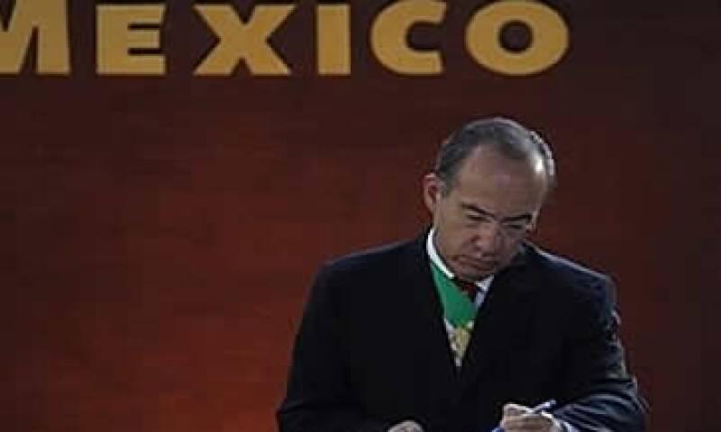 Felipe Calderón (Foto: AP)