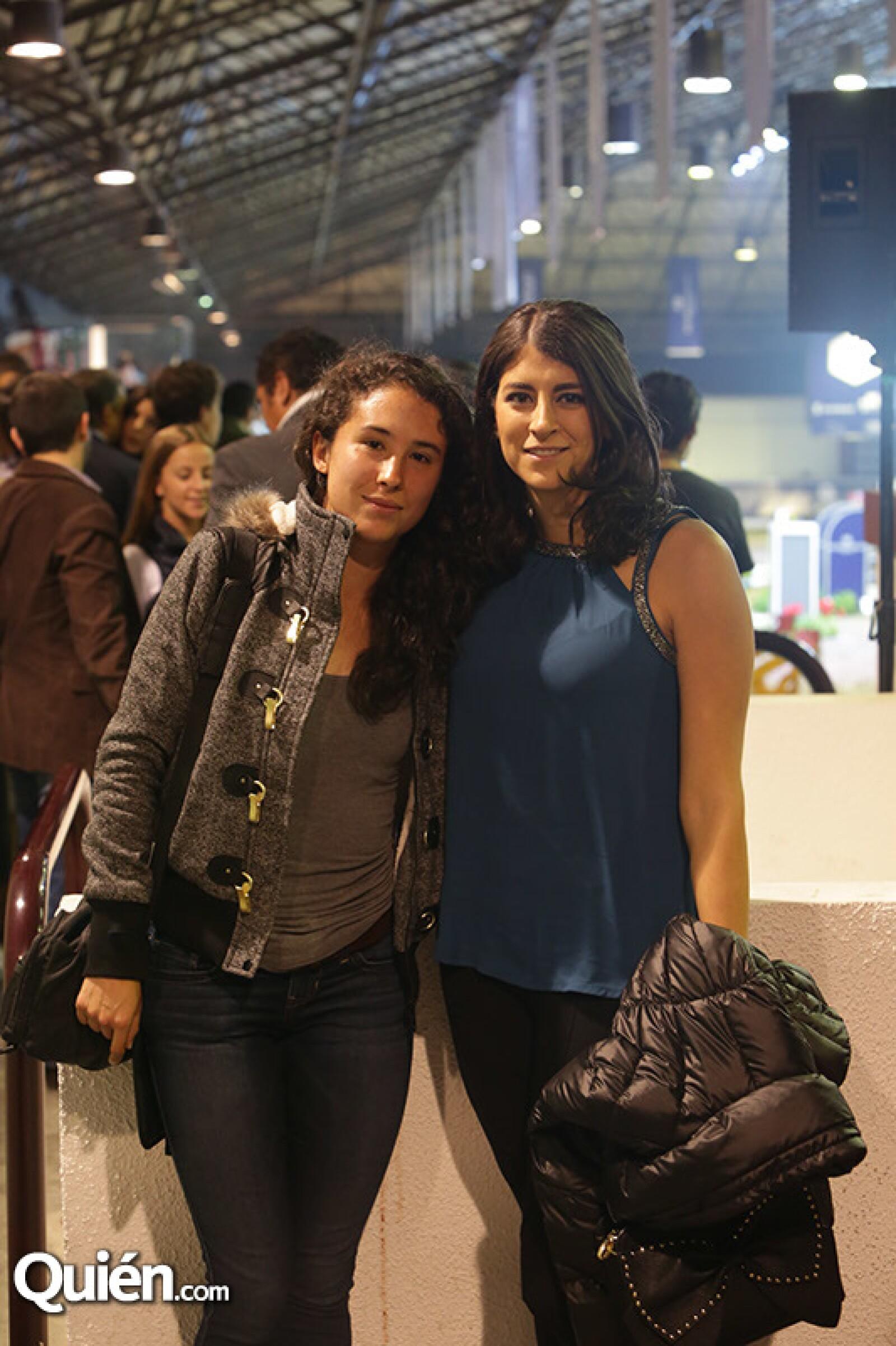 Karla Rodríguez y Alinne Jeitani