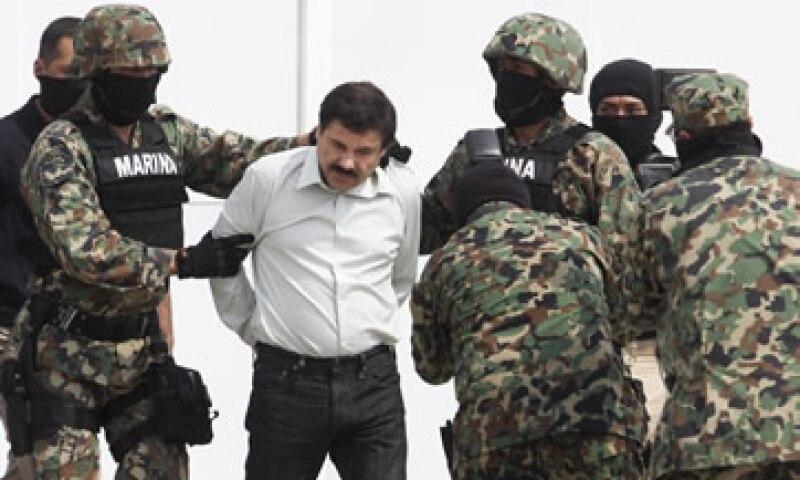 Joaquín Guzmán Loera  fue detenido el pasado 22 de febrero. (Foto: Cuartoscuro)