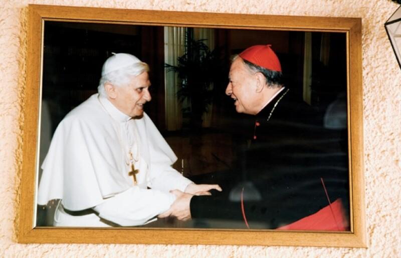 El cardenal estuvo en el cónclave donde se eligió a Benedicto XVI. En la foto, en octubre de 2005.